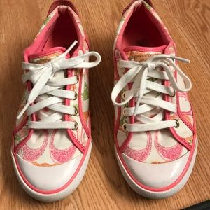 Coach sneakers shoes. Size 61/2